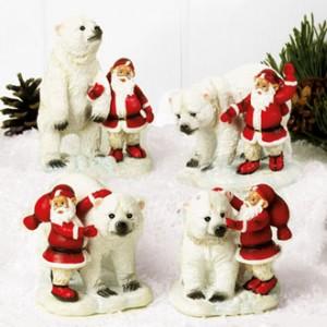 Tomtar med isbjörn